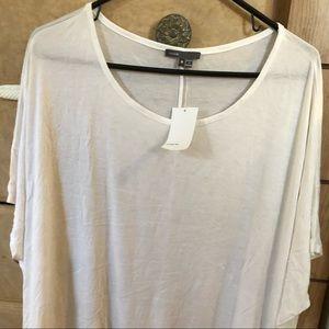 Vince white loose tshirt